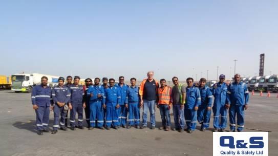 Εκπαίδευση Anti-Rollover στη Σαουδική Αραβία από την Q&S Ltd.