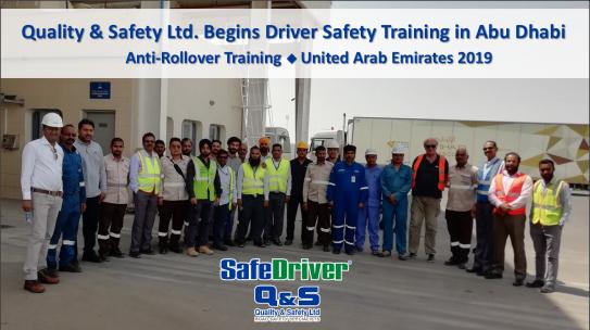 Εκπαίδευση Anti-Rollover Στo Abu Dhabi 2019